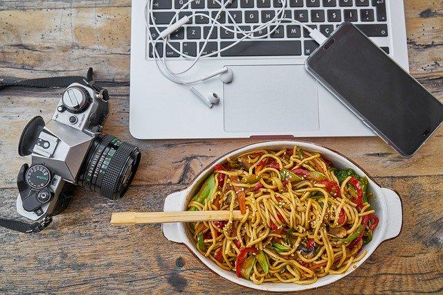 gagner de l'argent en tant que photographe culinaire