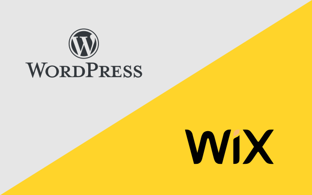 Wordpress vs WIX lequel choisir?